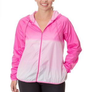 Pink Ombre Windbreaker Jacket Impact Impact by Jil